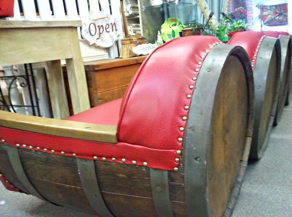 Oak-Barrel-Reupholstery