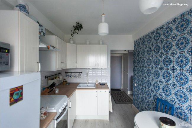 Дизайн-маленькой-кухни-в-хрущевке