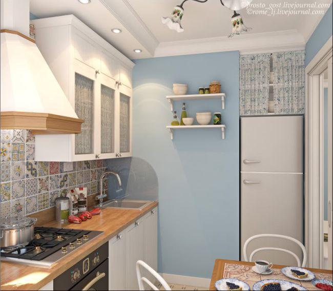 Дизайн-проект-кухни-в-хрущевке-с-раздвижной-дверью-2