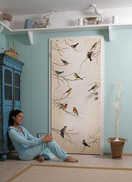 Studio M2 - inspiracje - fototapeta na drzwi.