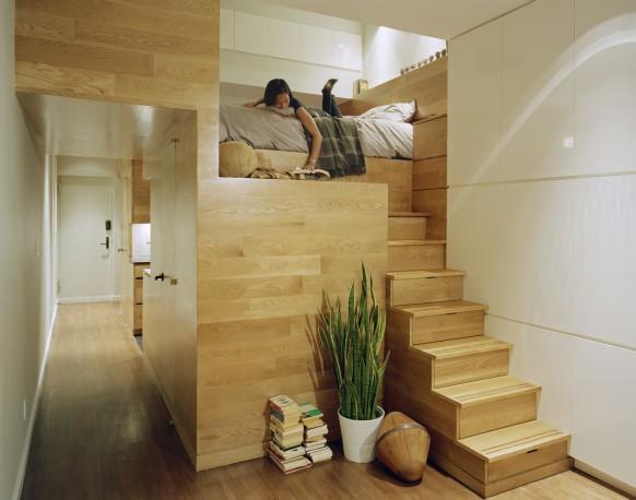 E-Village-Studio-loft-bed-582x458