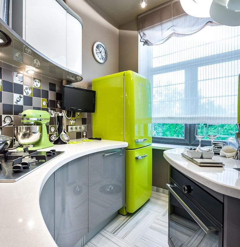 дизайн кухні в хрущовці 50 фото ідеї декору