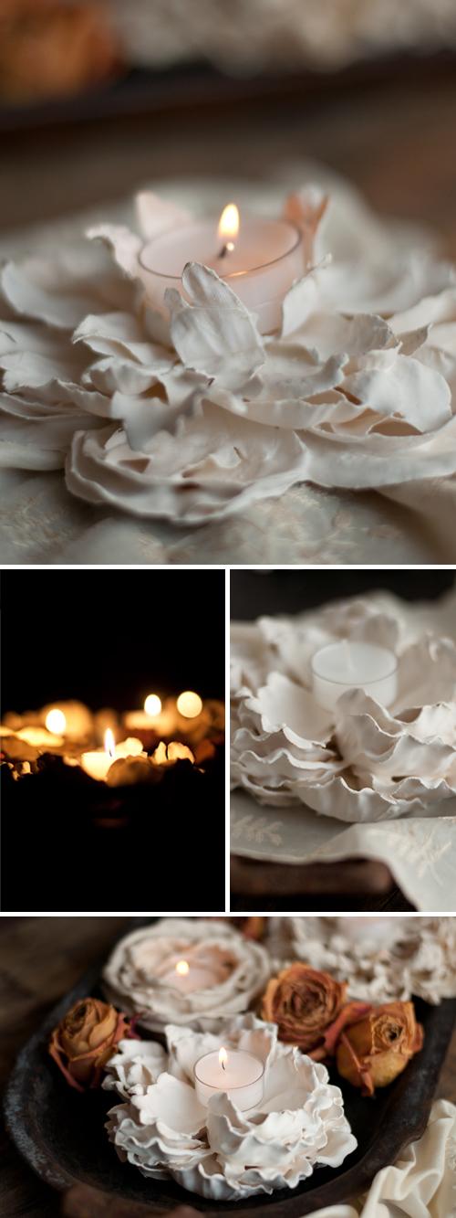 Plaster-Flower-Votives-9