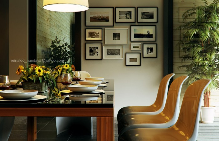 Retro-Modern-Dining-by-Reinaldo-Framed-artistic-photography-collection-700x450