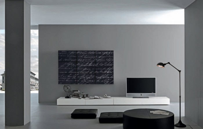 Segmented-cursive-chalkboard-print-minimalist-modern-living-700x448