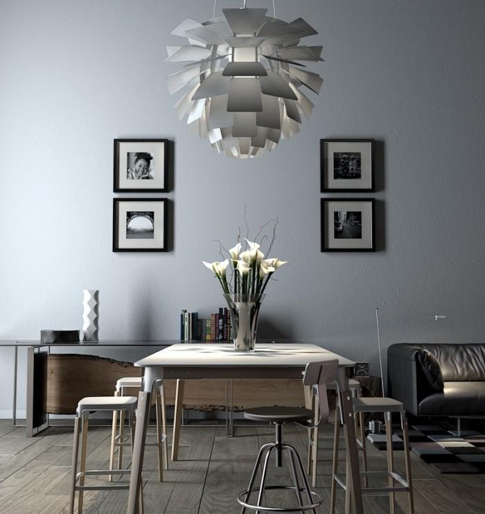 modern-symetry-blacka-dn-white-framed-photo-doubles-pendant-lit-dining-700x742