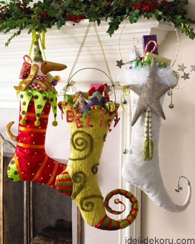 29 Creative DIY Christmas Stockings