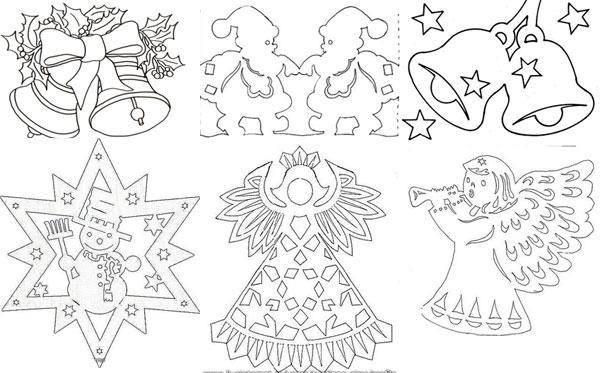 Шаблоны и схемы новогодних украшений своими руками