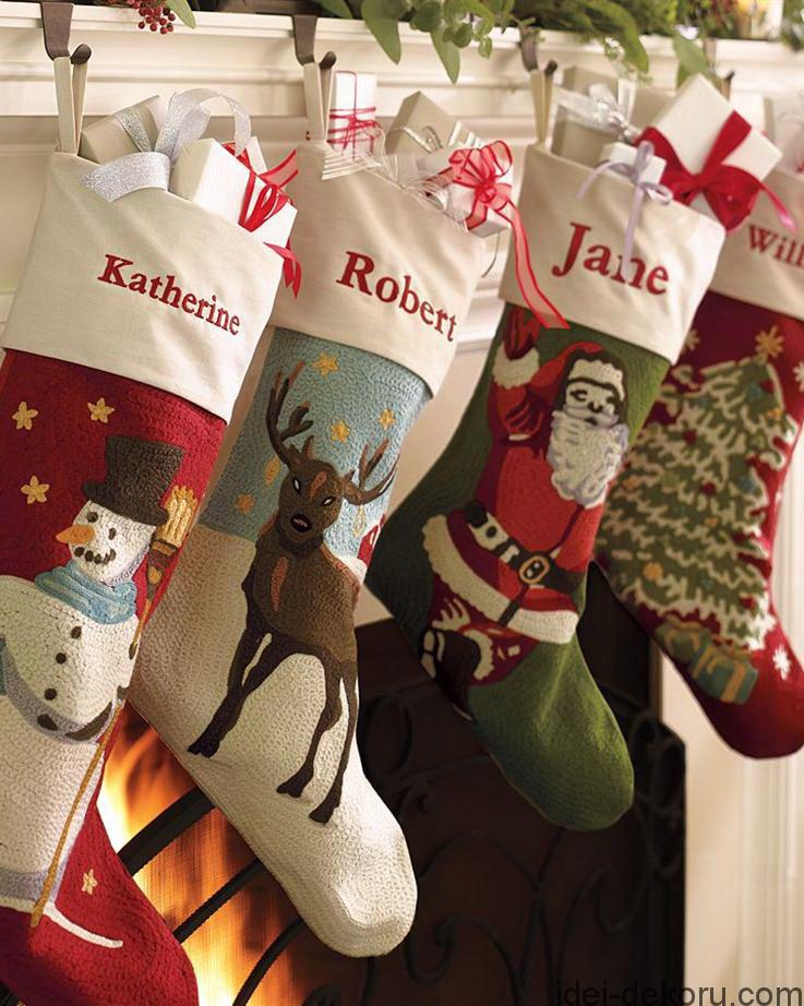 Terrific Christmas Stocking Design Ideas