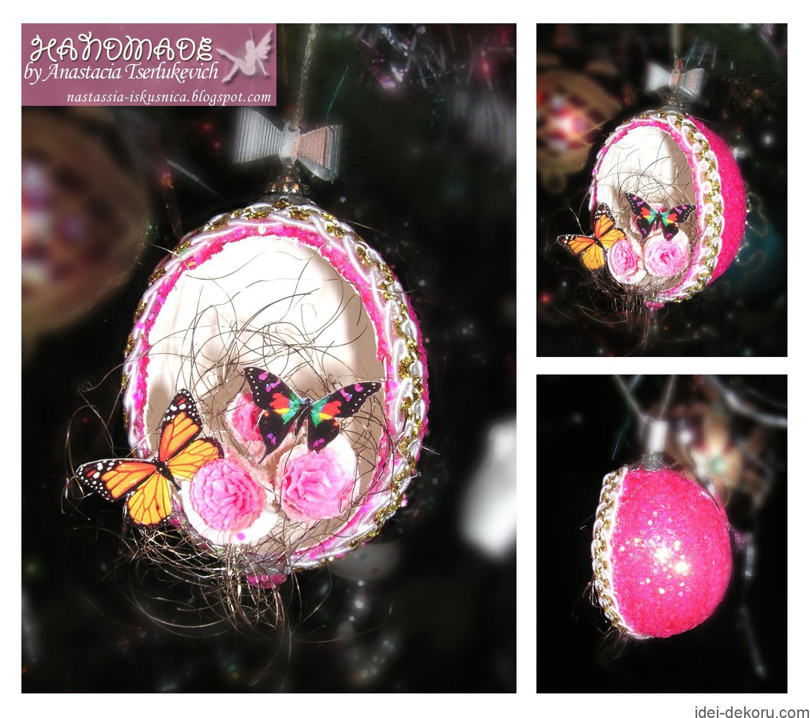 Яйцо с бабочками-2