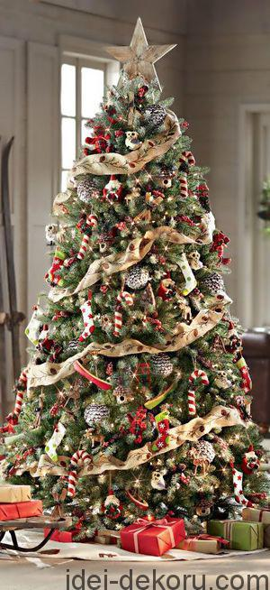 Gorgeous Christmas Tree ~ 20 Awesome #ChristmasTree Decorating Ideas & Inspirations - Style Estate -