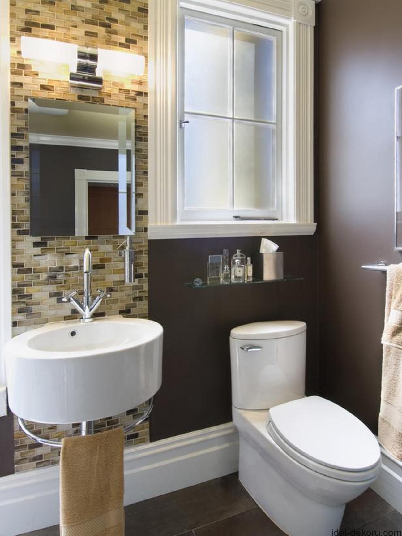 small-bathroom-design-ideas-with-traditional-toilet-and-wall-mounted-sink-with-towel-bar