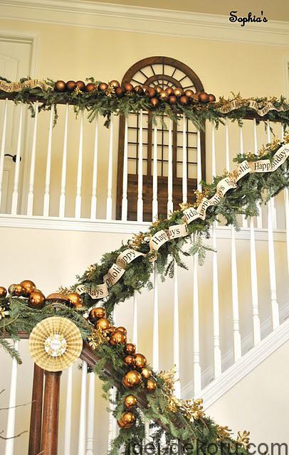 Christmas Stairs