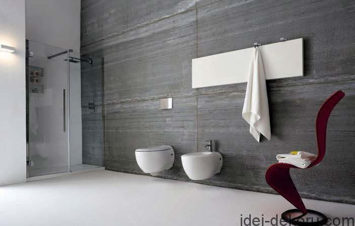 unique-stairs-white-floor-modern-bathroom-design-glass-shower-place-couple-toilet