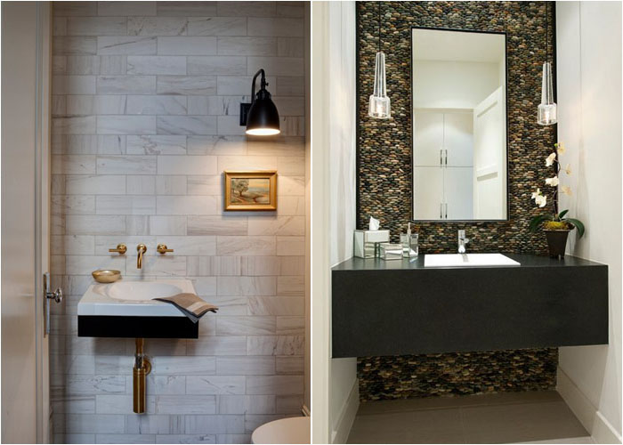 Інтер'єр туалетної кімнати від Buckingham Interiors + Design LLC і TATUM BROWN CUSTOM HOMES