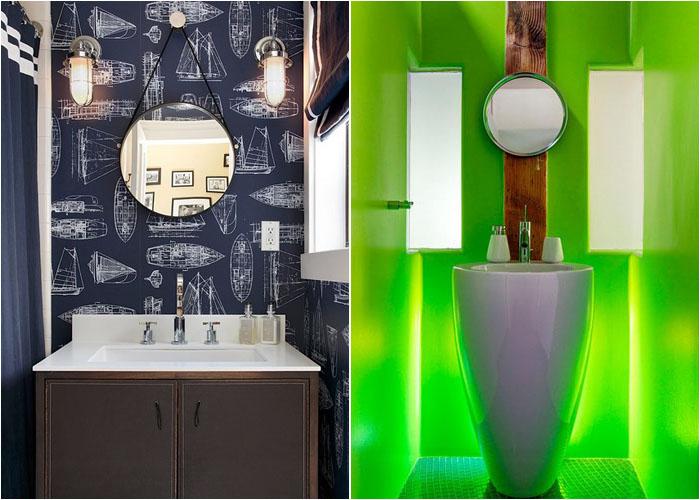 Інтер'єр туалетної кімнати від Artistic Designs for Living, Tineke Triggs