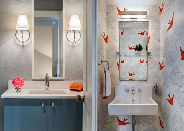 Інтер'єр туалетної кімнати від Terrat Elms Interior Design і Barker Freeman Design Office Architects pllc
