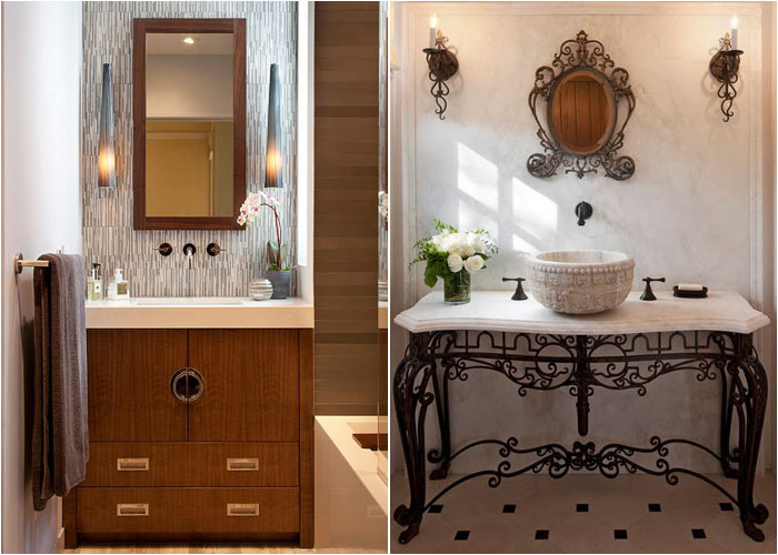 Інтер'єр туалетної кімнати від Artistic Designs for Living, Tineke Triggs и Studio 7 Architecture & Allied Arts