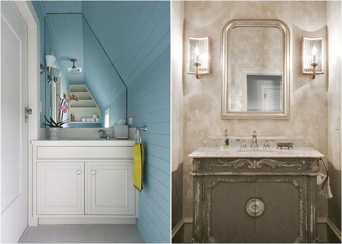 Інтер'єр туалетної кімнати від Thomas Rex Hardy, AIA і JD Smith Custom Homes
