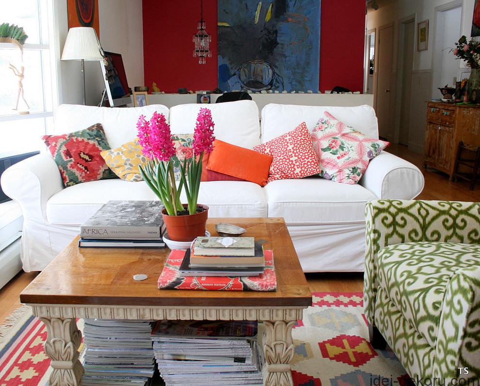 Stupendous-Ikea-Pillows-decorating-ideas-for-Living-Room-Eclectic-design-ideas-with-Stupendous-flowers-at-home