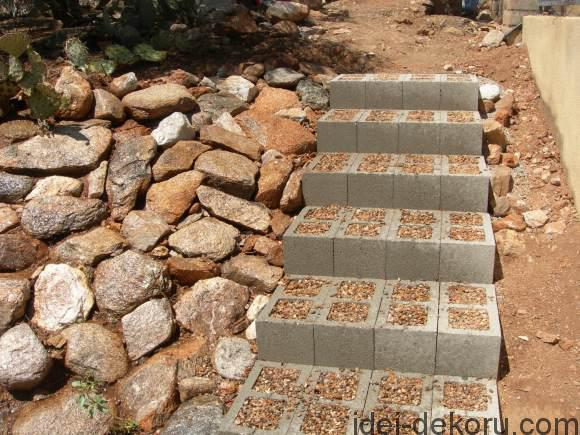 Concrete-Block-Stairs