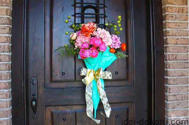easy-diy-spring-door-decor-crafts-doors-flowers