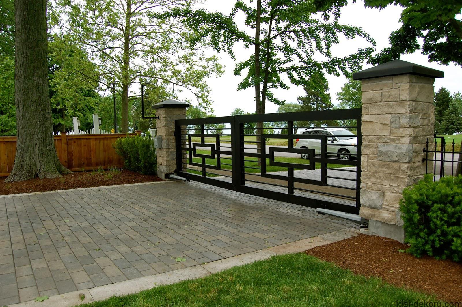 modern-brick-and-iron-fence-designs-doors-gates-and-entryways-classic-modern-house-gates-and-fences-designs