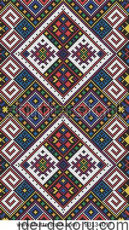 stock-vector-seamless-pattern-of-national-ukrainian-ornament-vector-93134017