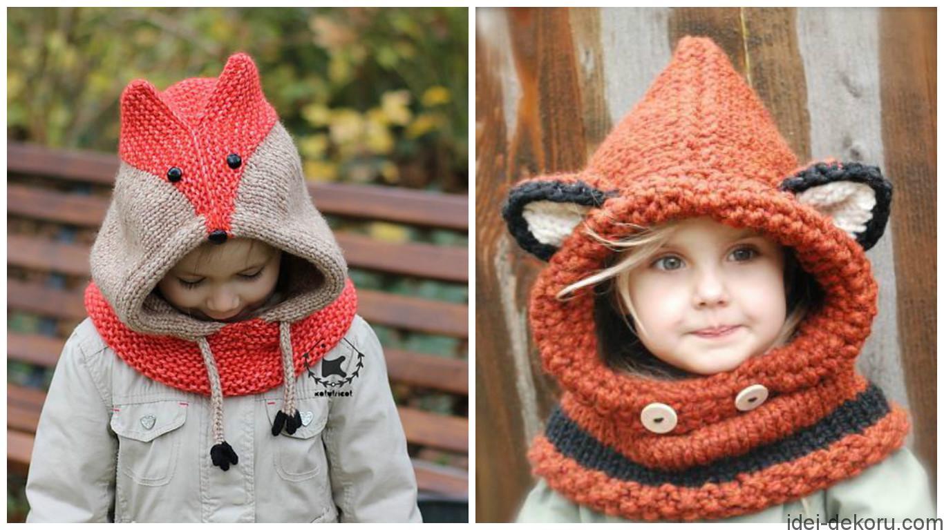 Оригінальні дитячі шапочки. Підбірка ідей 753e1e50eecaa