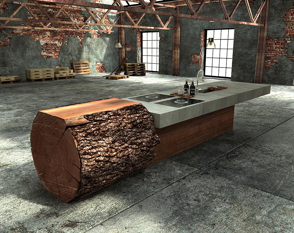werkhaus-kitchen-island-made-from-tree-trunk