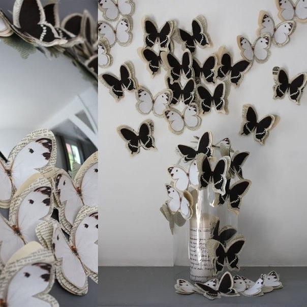 dekor-iz-babochek-na-stene-3