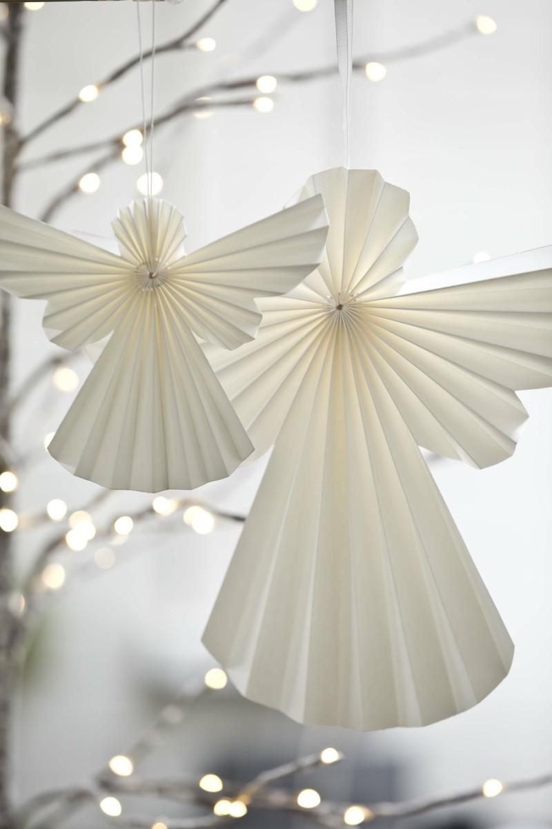 bastelideen-mit-papier-duenn-engel-falten-weiss-romantisch-deko