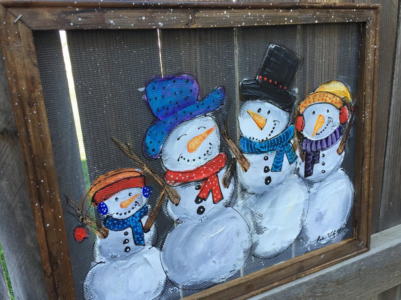 Смешные картинки на окно новогодние, тебя