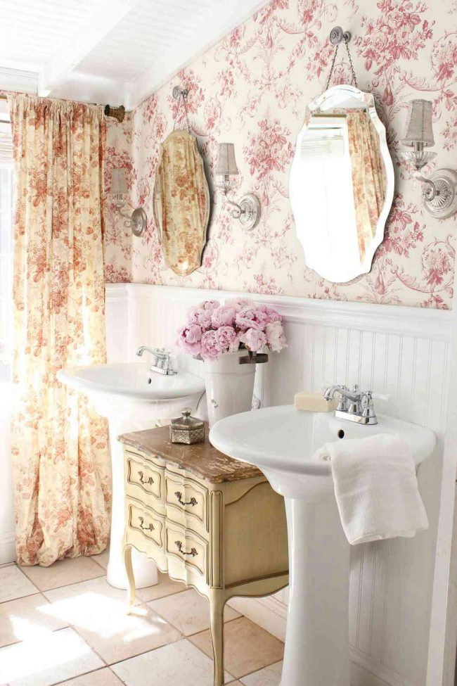 comfortable-small-country-bathroom-ideas-home-decor-french-650x975