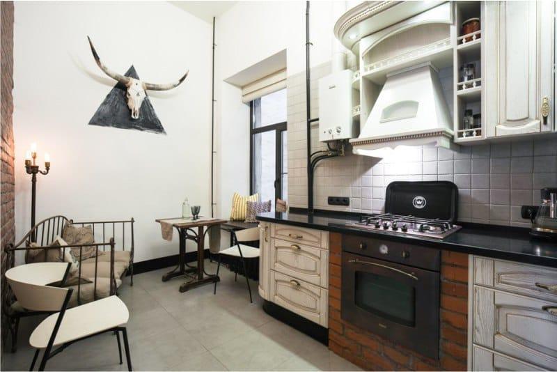 Декор-кухни-в-стиле-лофт