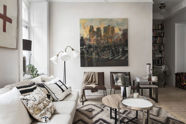 warm-decor-for-apartment-in-sweden-pufikhomes-1