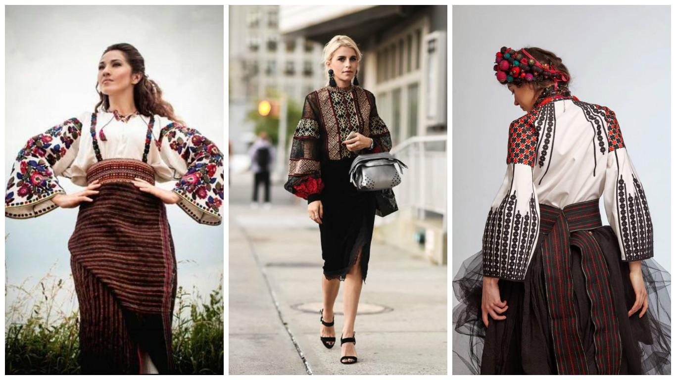 Традиційні та сучасні  ідеї жіночих вишитих сорочок 0d0a2288bec16