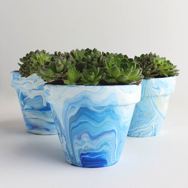 Marble-Terracotta-pots