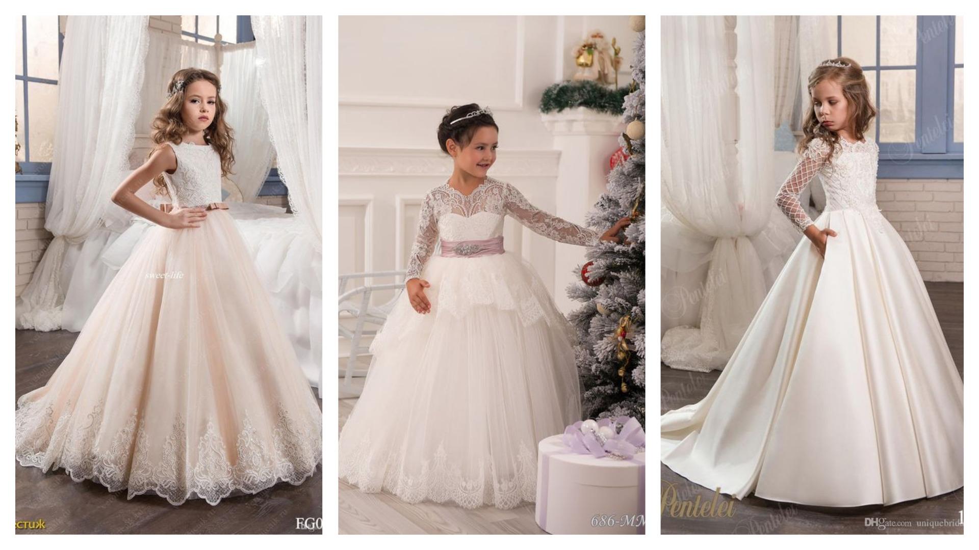 Дитячі сукні до першого причастя  dd4494ecd46b3