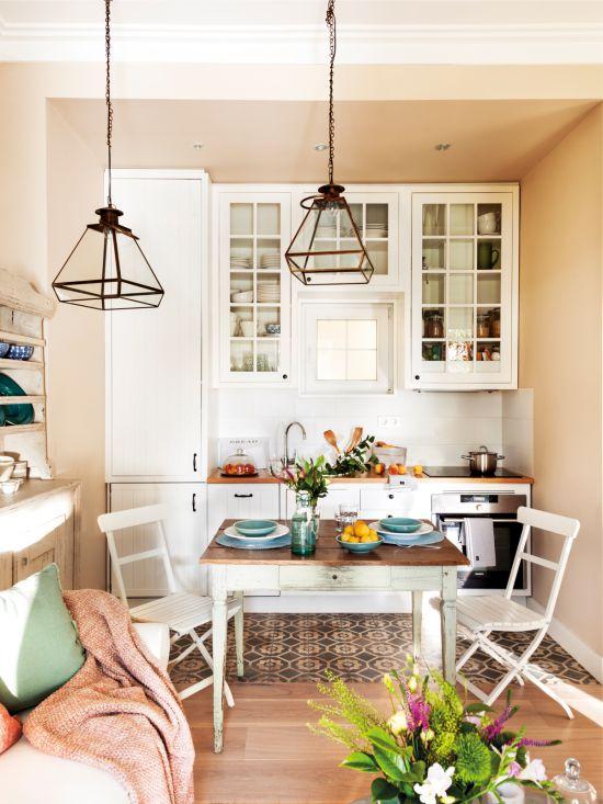 Освещение-на-маленькой-кухне