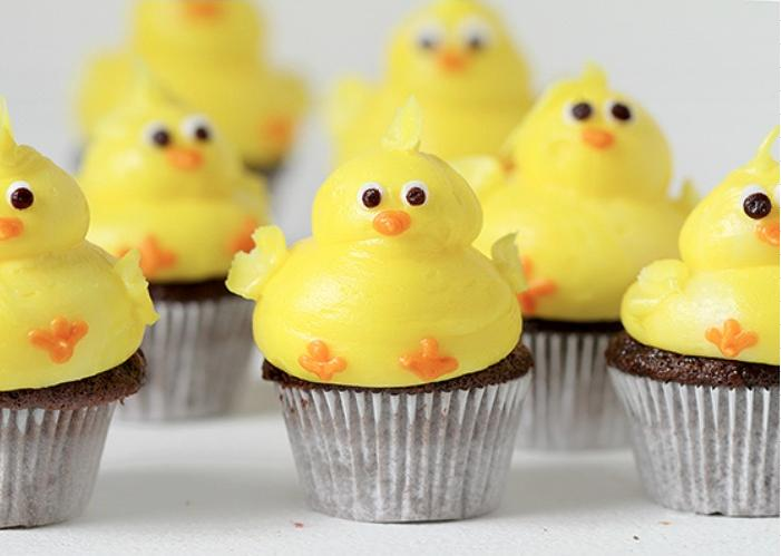 Baby-Chick-Cupcakes
