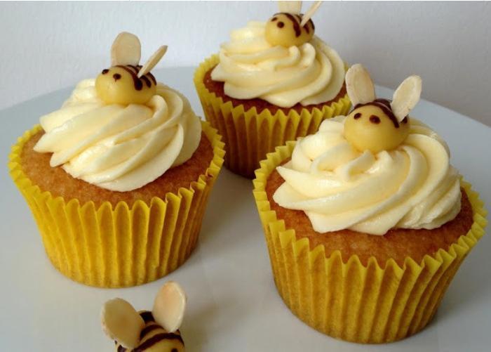 Honey-Orange-Cupcakes