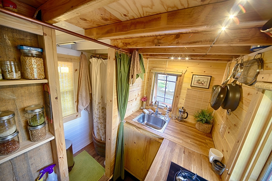small-hand-built-kitchen-covered-in-wooden-Interior-Design-in-Small-Decoration
