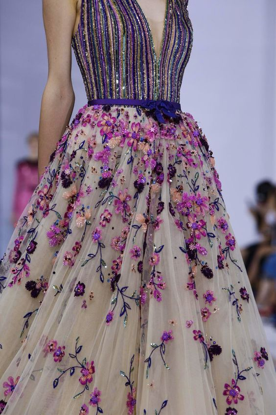 Georges Hobeika Fashion Show, Couture Collection Fall Winter 2015 in Paris