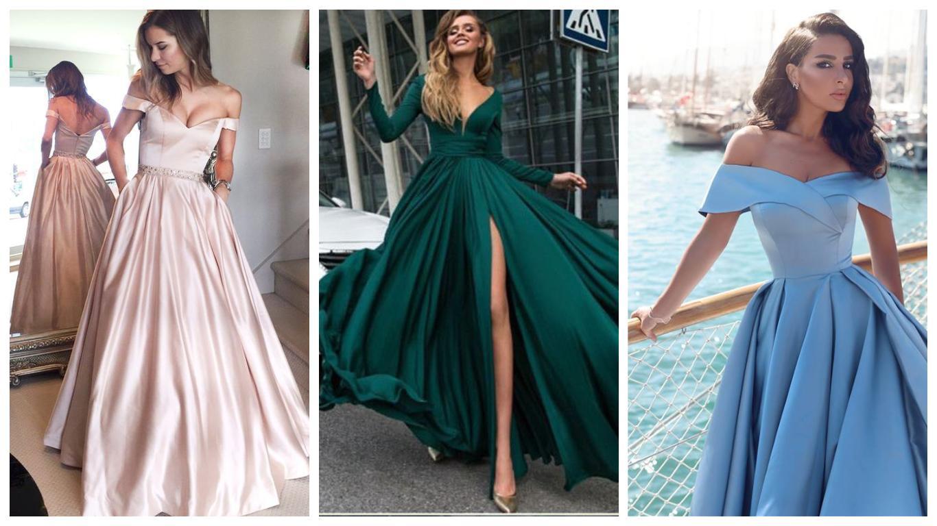 Вечірні сукні  елегантність та простота крою  7d589bb09fd90