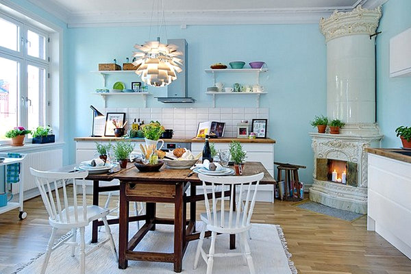 Soothing-Scandinavian-kitchen