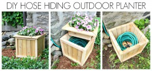 hose hiding planter horizontal collage tml
