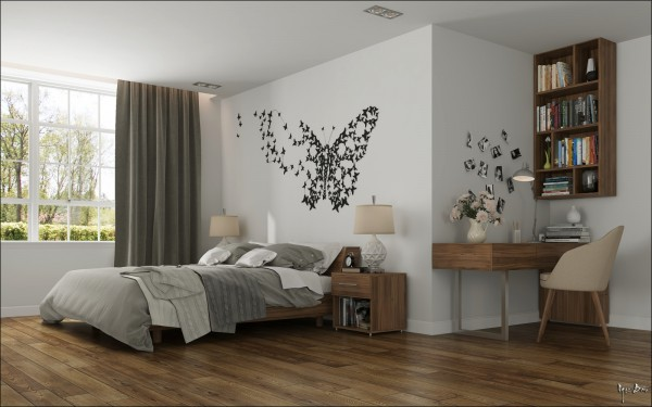 bedroom-butterfly-wall-art-600x375