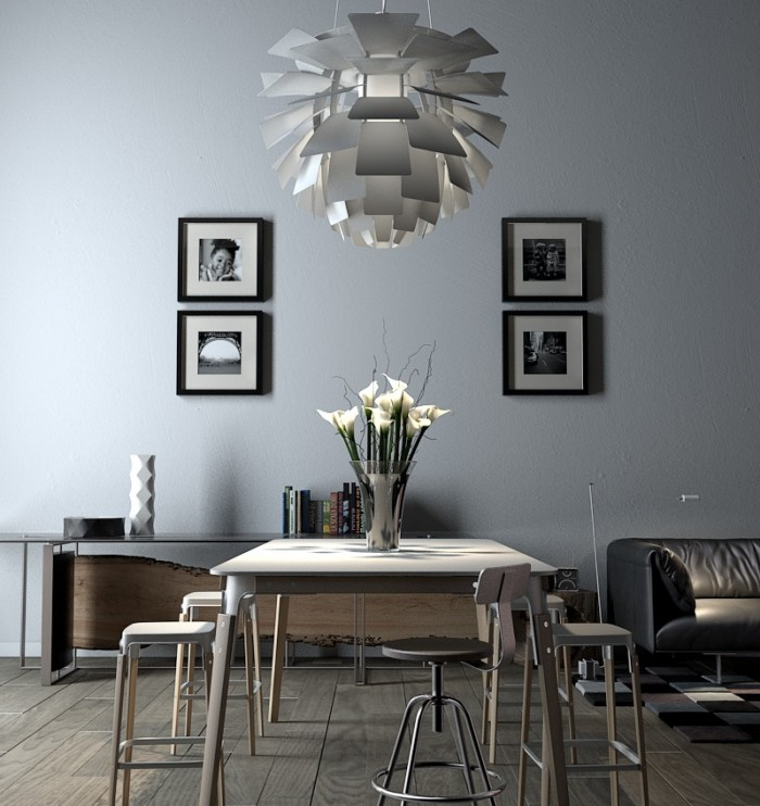 modern-symetry-blacka-dn-white-framed-photo-doubles-pendant-lit-dining-700x742
