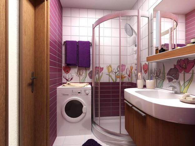 Дизайн маленької ванної кімнати